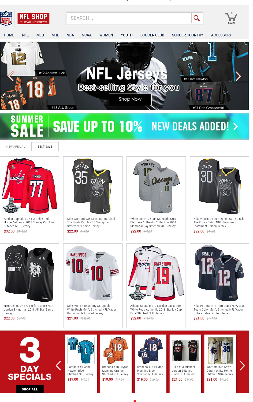 innovative design f408a 13b6d Womens Emmanuel Sanders Jersey   Hottest NFL Football Nike ...